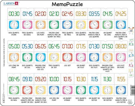 GP5 - MemoPuzzle: Lær klokka