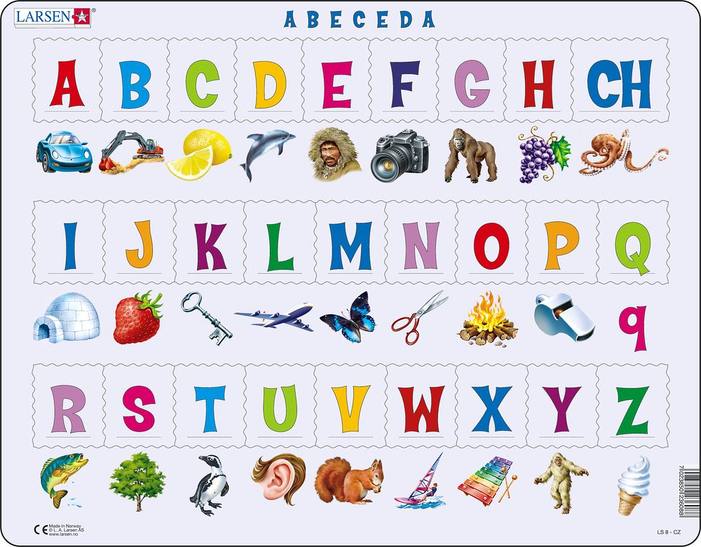 LS827 - ABC-Puzzle(27) (Czech)