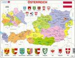 K41 - Østerrike, politisk kart