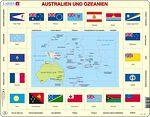 KL5 - Kart/flagg - Australia og Oseania