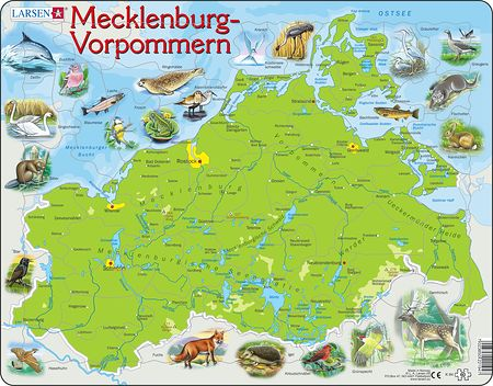 K94 - Mecklenburg-Vorpommern Physical With Animals