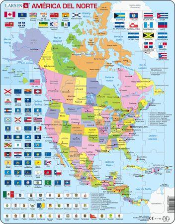 K17 - Nord-Amerika Politisk