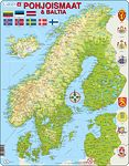 K3 - The Nordics & Baltics Physical Map