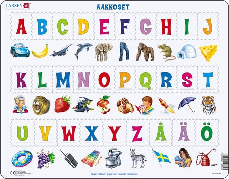 LS829 - Lær alfabetet: 29 store bokstaver