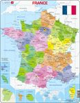 A5 - Frankrike, politisk kart