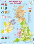 K18 - Great Britain & Ireland Political Map