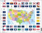 L1 - United States of America Political Map