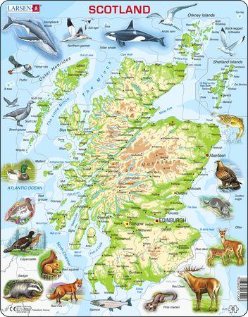 A41 - Skottland topografisk kart