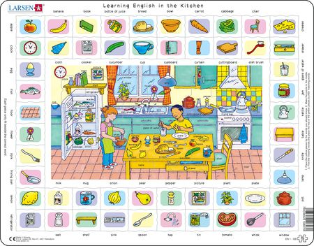 EN1 - Learning English Puzzle 1