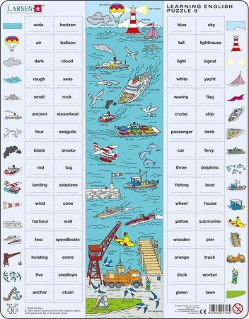EN8 - Learning English Puzzle 8