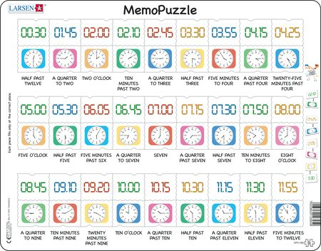 GP5 - MemoPuzzle: Learn the Clock