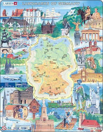 KS2 - Landmarks of Germany