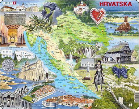 A21 - Kroatia Attraksjoner