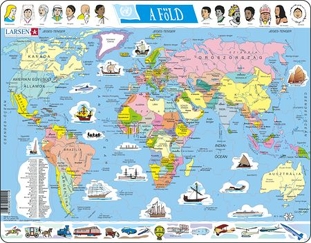 K1 - The World Political Map