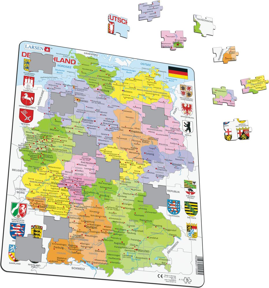 A11 - Germany Political (Illustrative image 1)