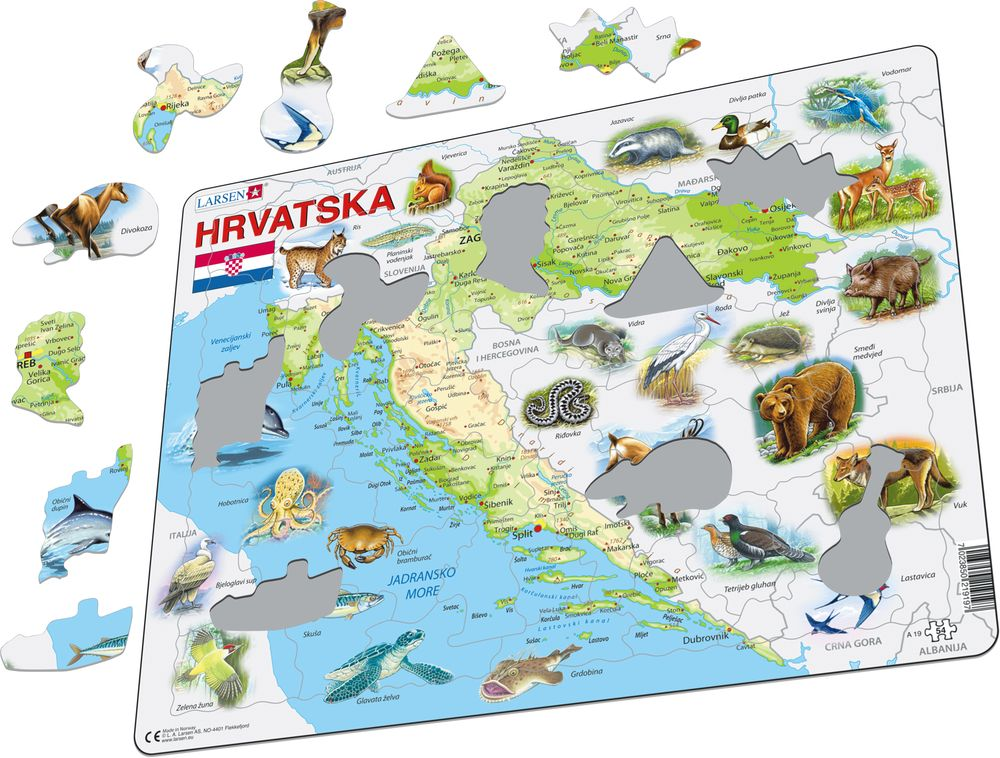 A19 - Croatia with Animals (Illustrative image 1)