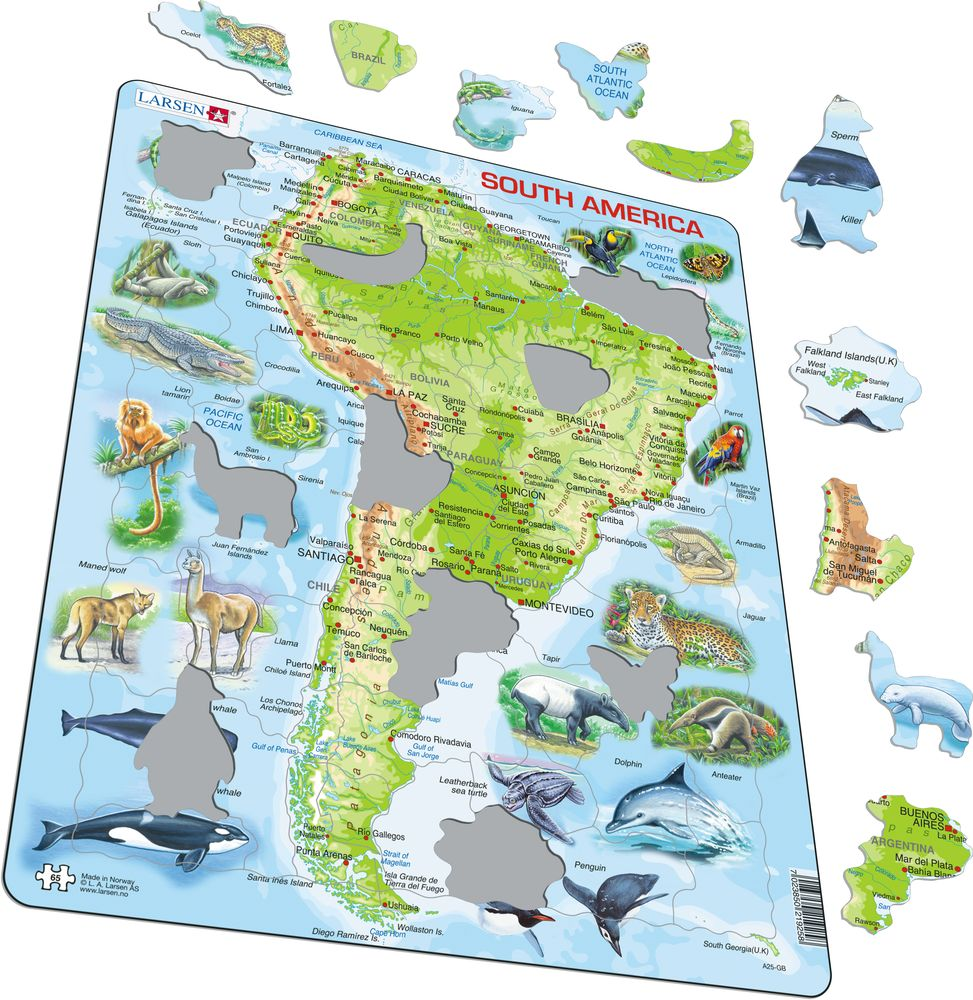 A25 - South America (Illustrative image 1)