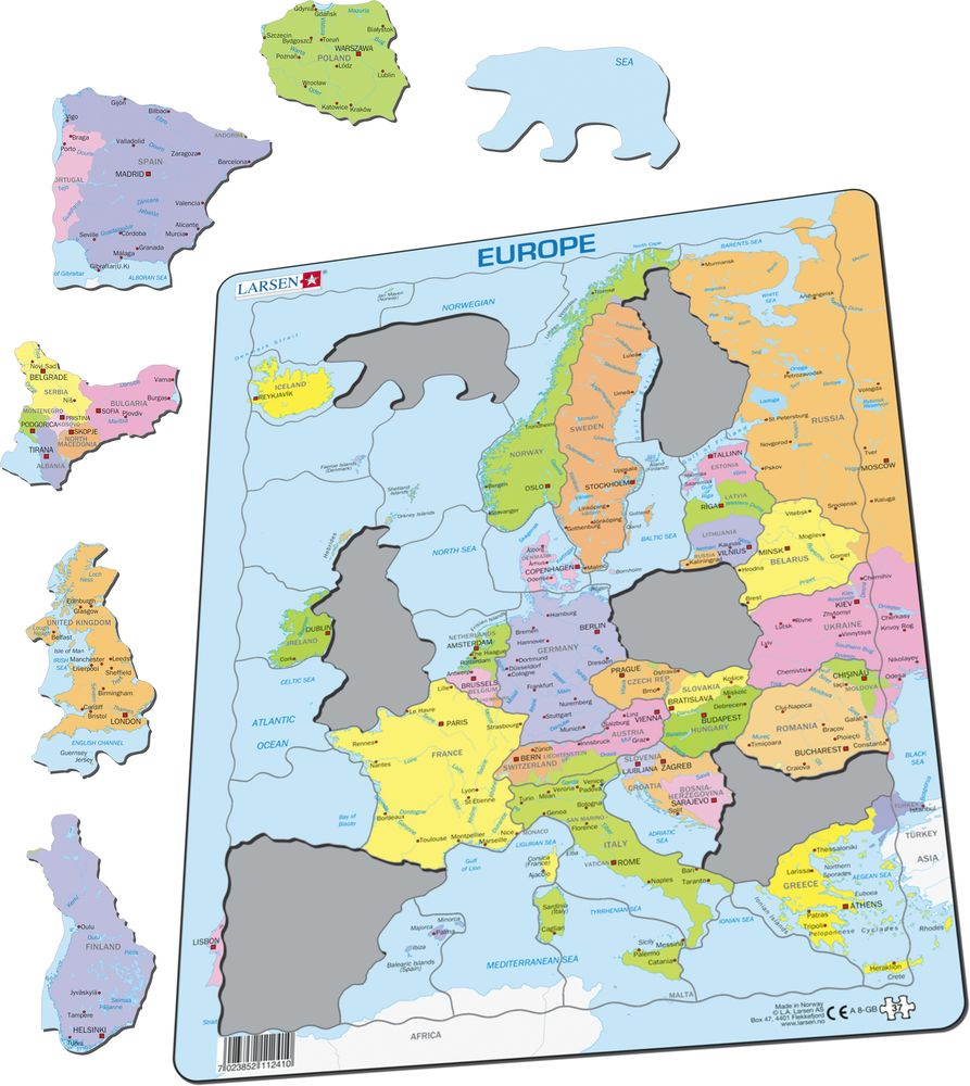 A8 - Europe Political (Illustrative image 1)