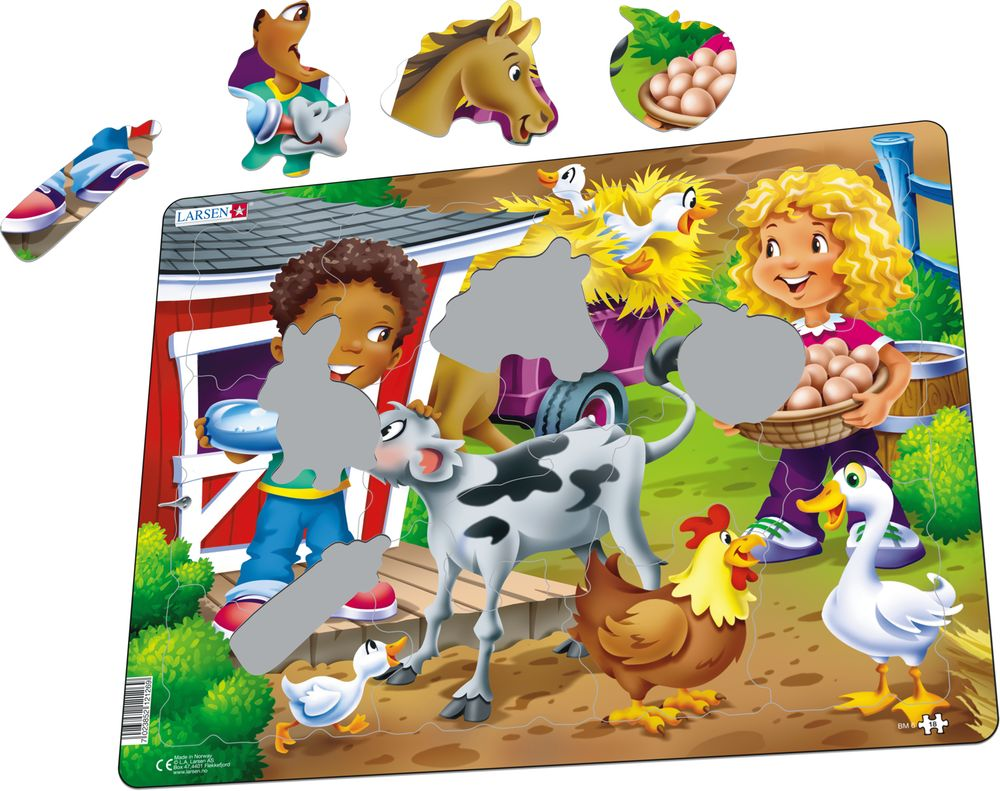 BM6 - Farm kids with calf (Illustrative image 1)