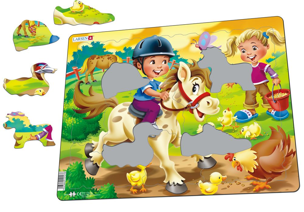 BM8 - Farm kids with pony (Illustrative image 1)