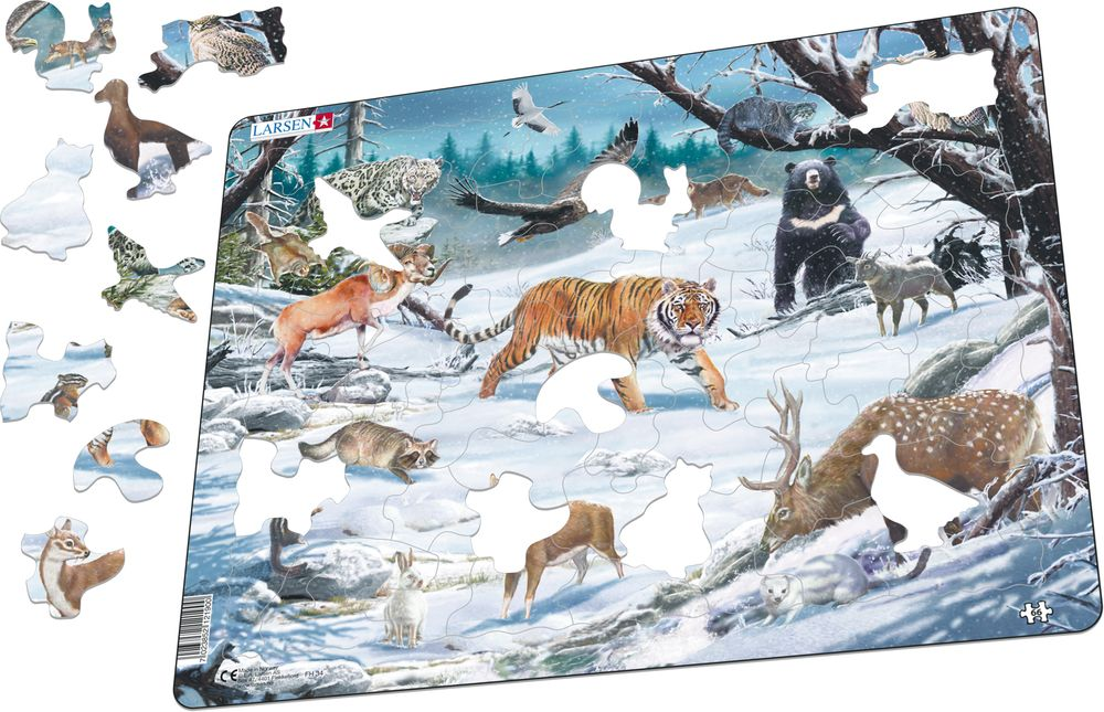 FH34 - Siberian and Northeast Asian wildlife (Illustrative image 1)