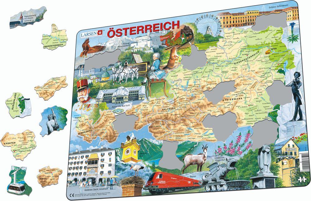 K20 - Østerrike (fysisk) (Illustrasjonsbilde 1)