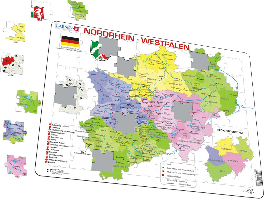K23 - Nordrhein-Westfalen Political (Illustrative image 1)