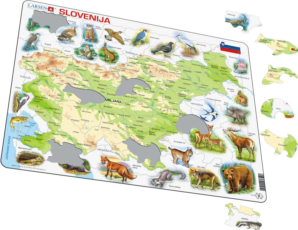K25 - Slovenia Physical w/animals (Illustrative image 1)