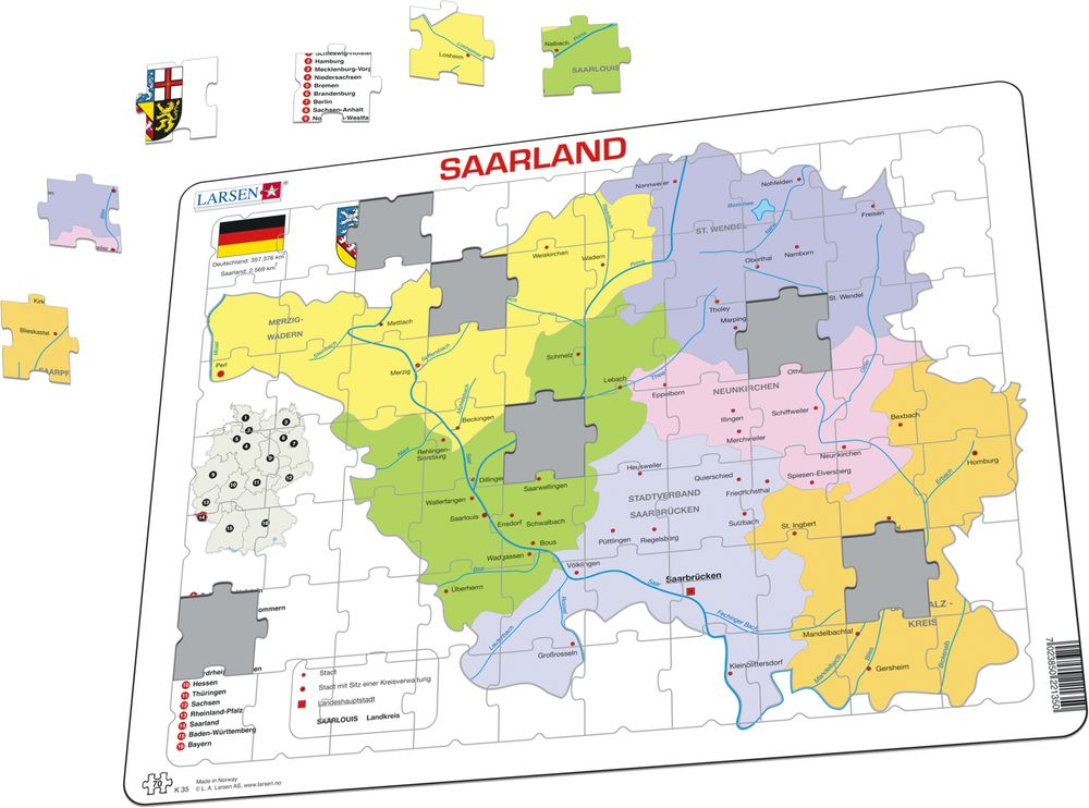 K35 - Saarland (Illustrasjonsbilde 1)