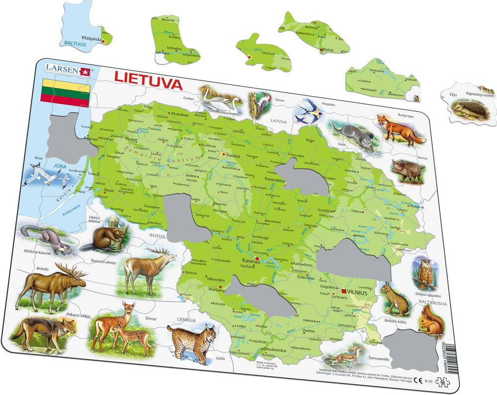 K47 - Litauen (Illustrasjonsbilde 1)