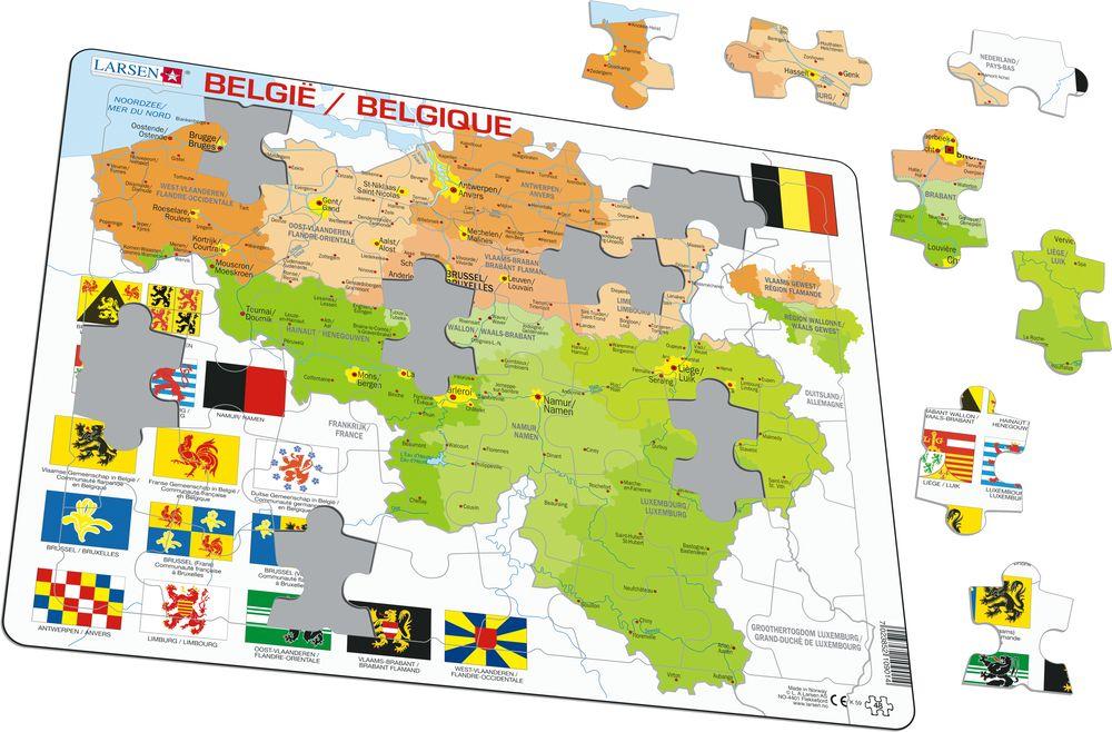 K59 - Belgia Politisk (Illustrasjonsbilde 1)