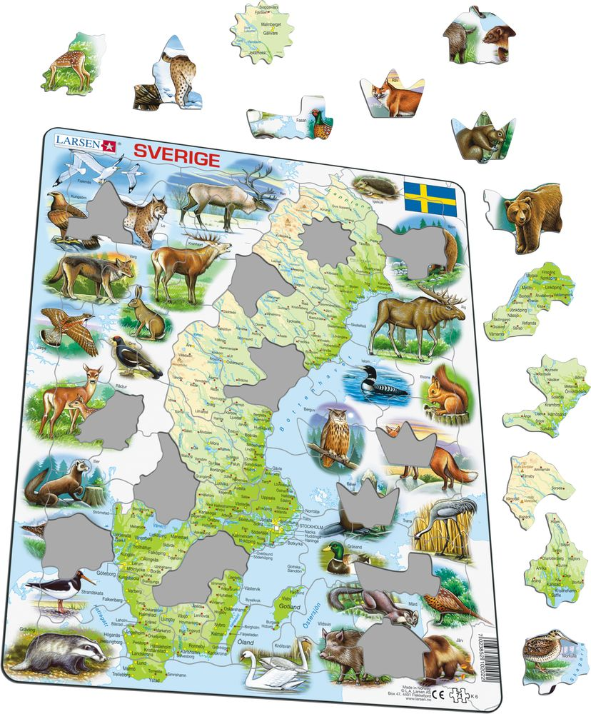 K6 - Sweden Physical w/animals (Illustrative image 1)