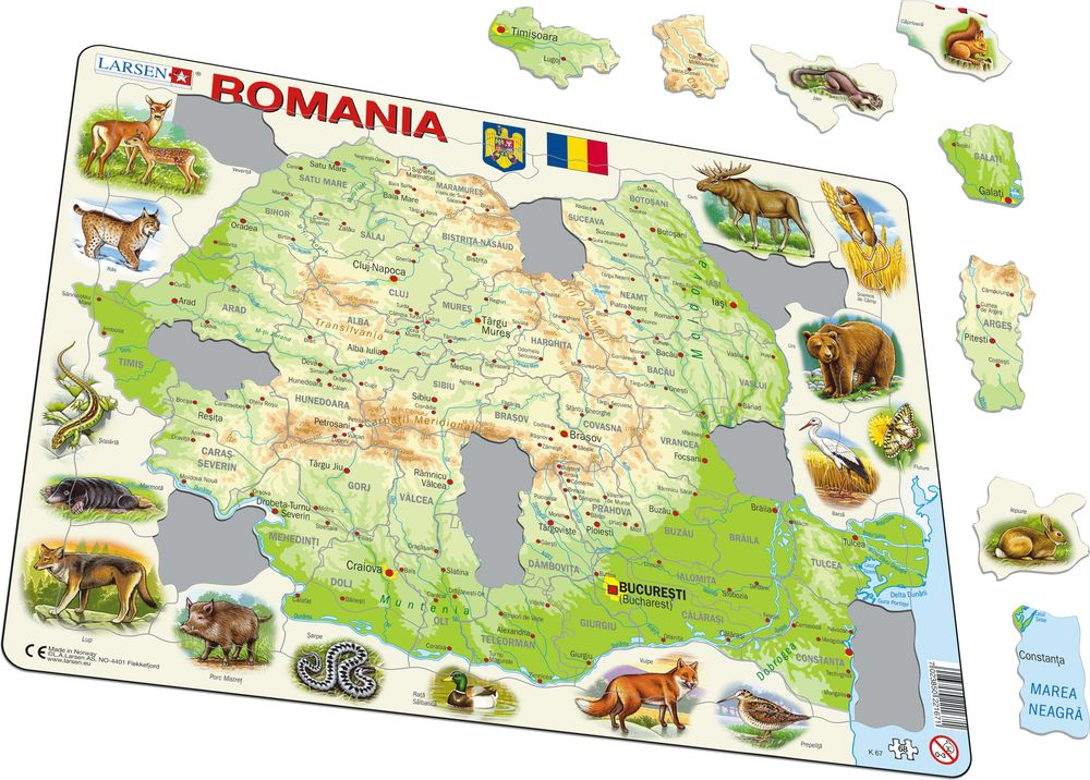 K67 - Romania Physical with Animals (Illustrative image 1)