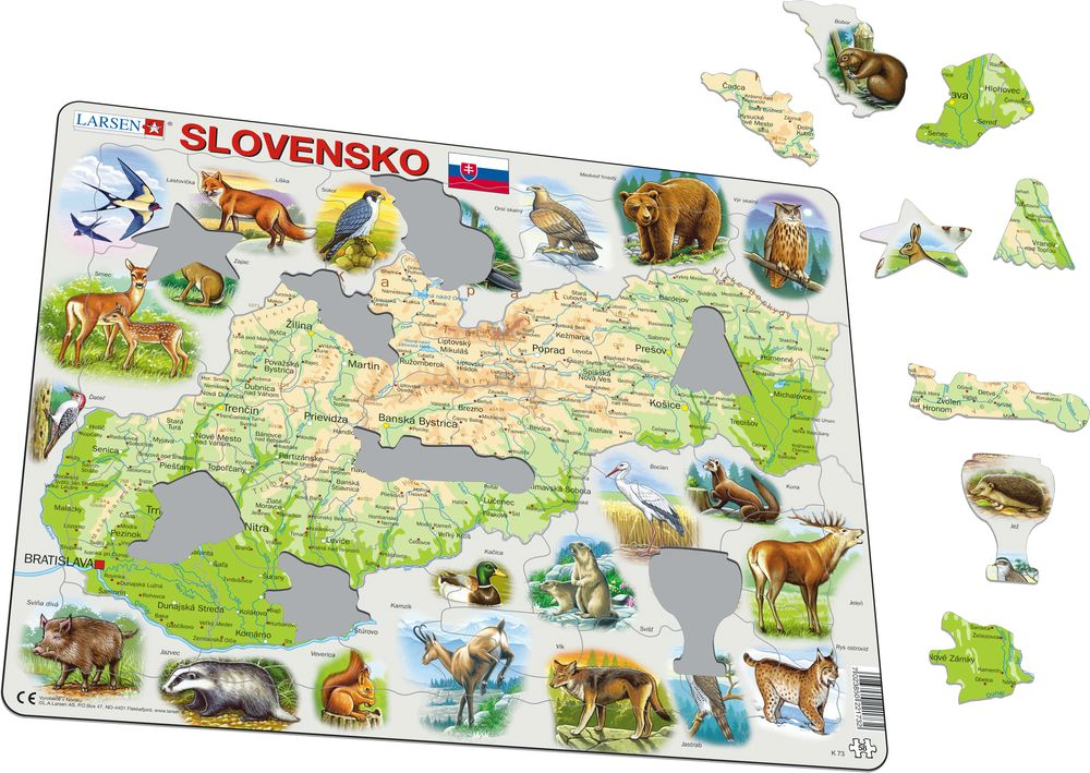 K73 - Slovakia Physical with Animals (Illustrative image 1)