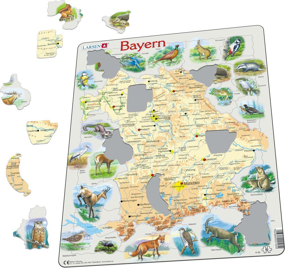 K95 - Bayern Fysisk med Dyr (Illustrasjonsbilde 1)
