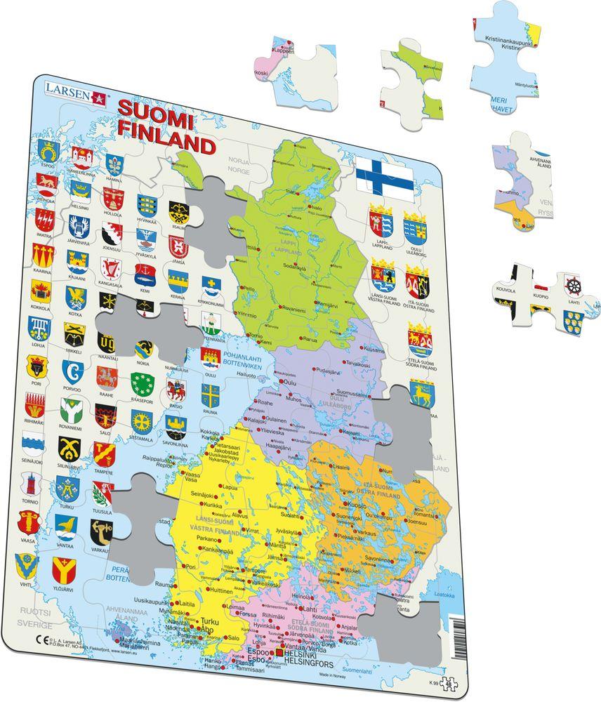 K99 - Finland Politisk (Illustrasjonsbilde 1)