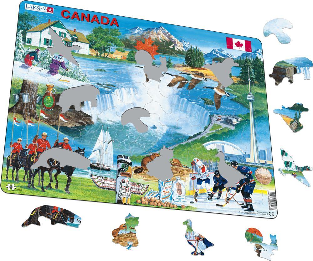 KH6 - Canada suvenir (Illustrasjonsbilde 1)