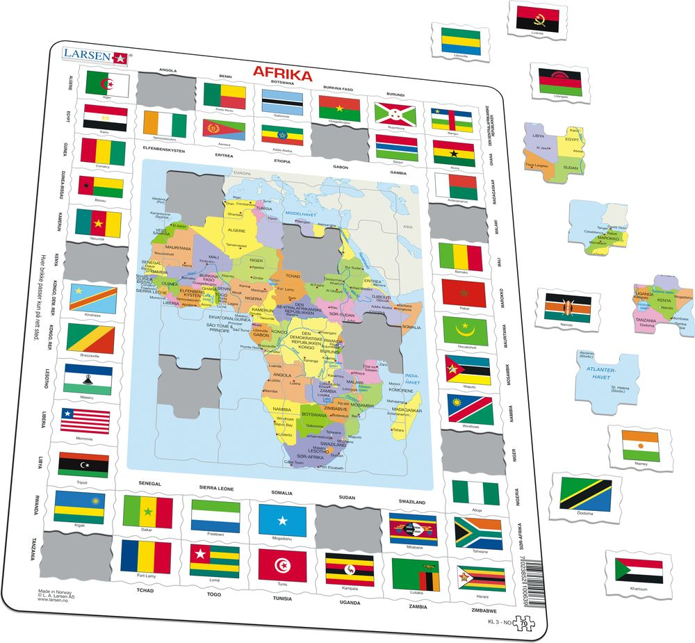 KL3   Map/Flag   Africa :: Maps of the world and regions