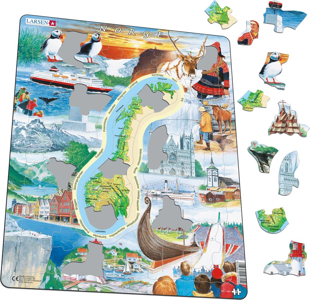 KS1 - Norway - attractions (Illustrative image 1)