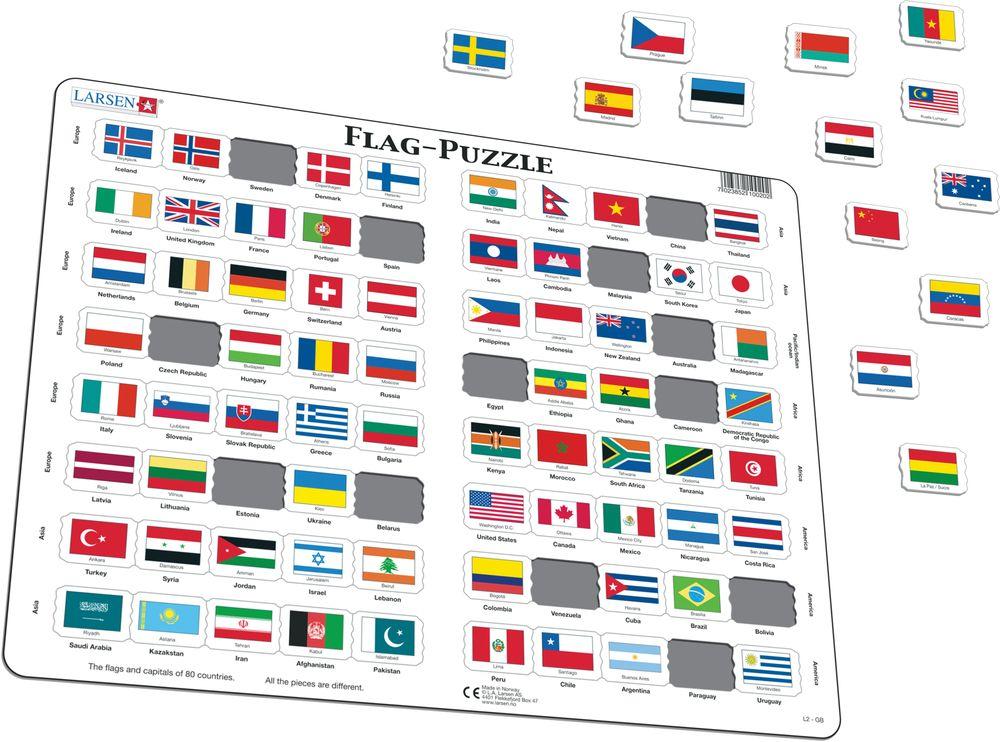 L2 - Flagg-Puzzle (Illustrasjonsbilde 1)