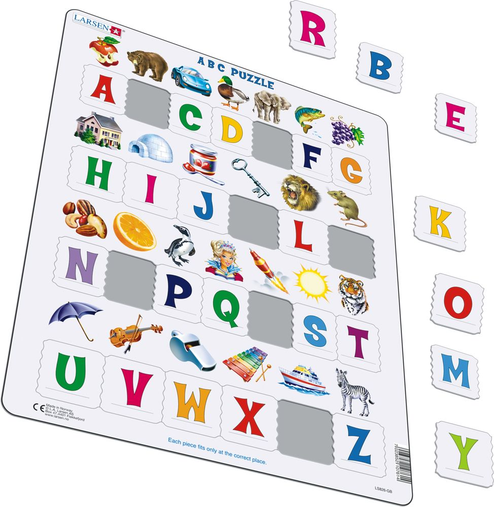 LS826 - Learn the Alphabet: 26 Upper Case Letters (Illustrative image 1)