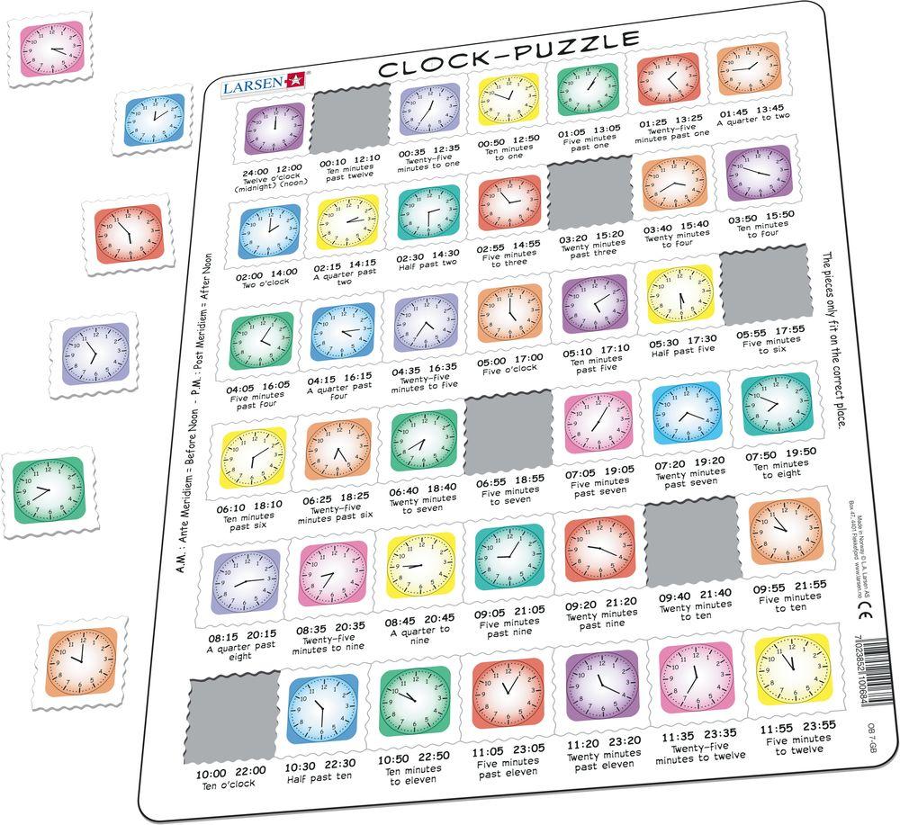 OB7 - Lær klokken (Illustrasjonsbilde 1)