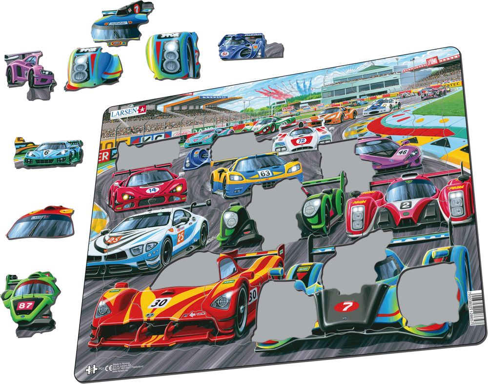 PG1 - Racing Cars on the track (Illustrative image 1)