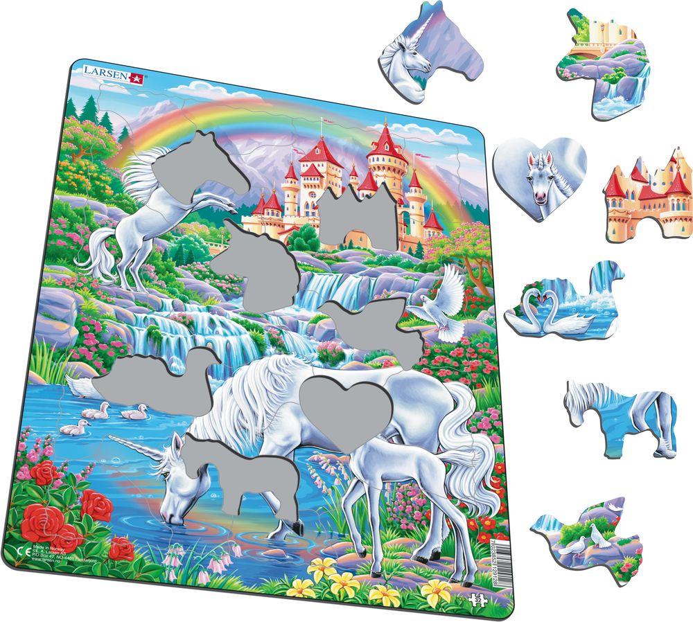 PG2 - Enhjørninger under regnbuen (Illustrasjonsbilde 1)