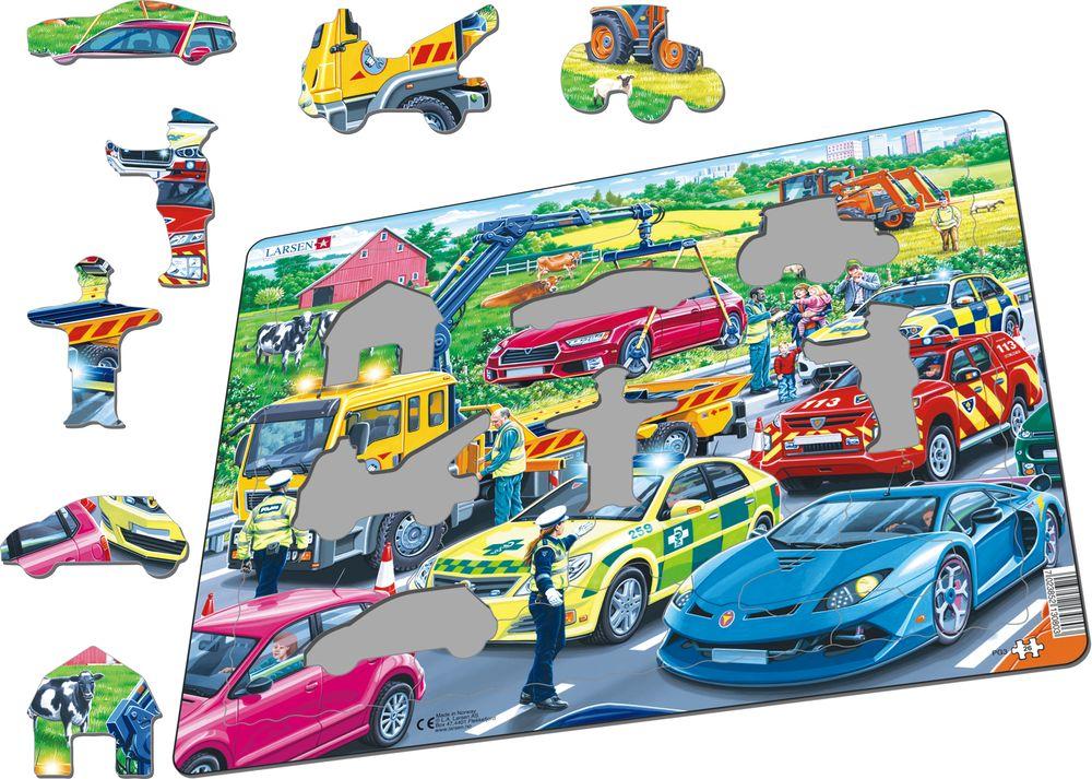 PG3 - Redningsbiler på motorveien (Illustrasjonsbilde 1)