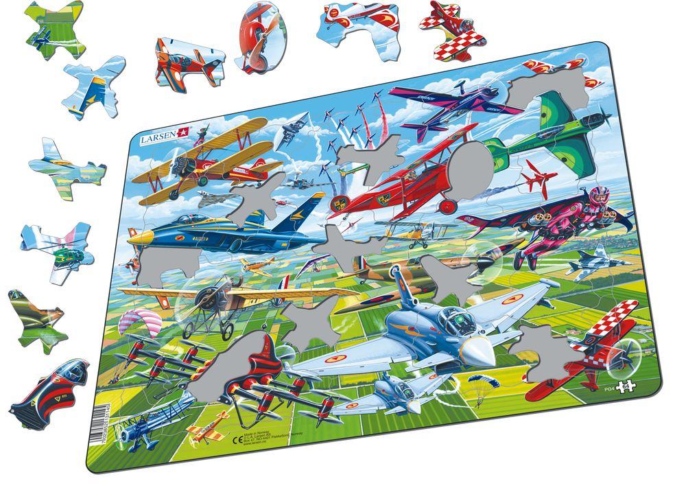 PG4 - Dristige piloter i fantastiske fly (Illustrasjonsbilde 1)