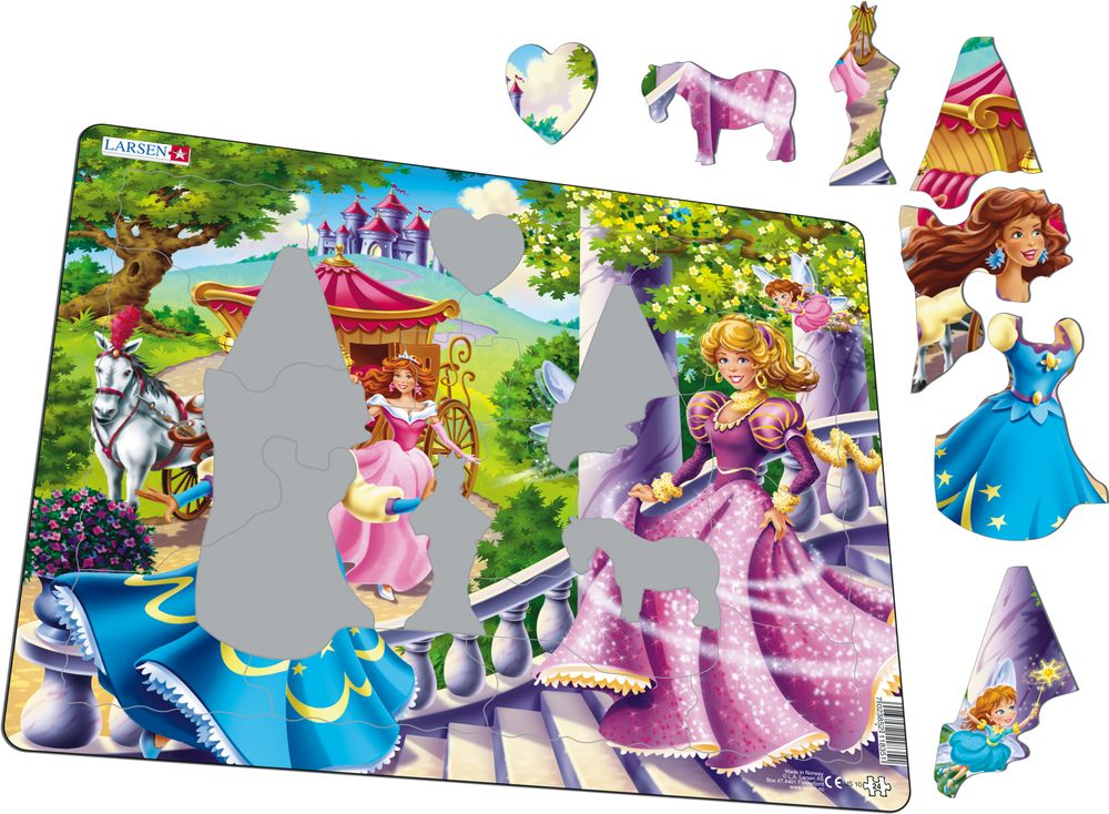 US10 - Fairy Tale Princesses (Illustrative image 1)