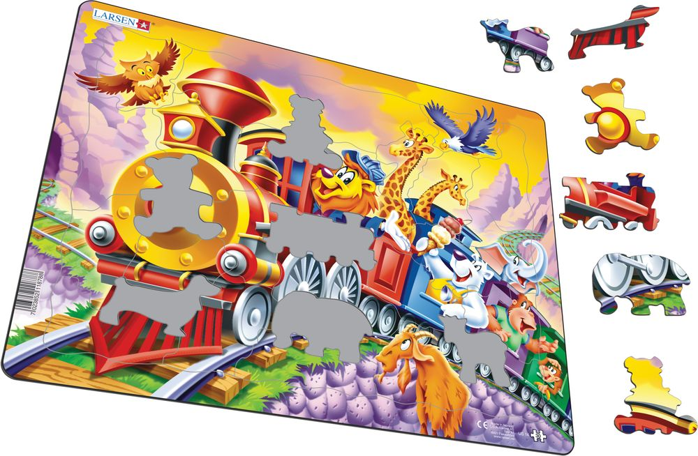 US14 - Zoo Animals on a Train Trip (Illustrative image 1)