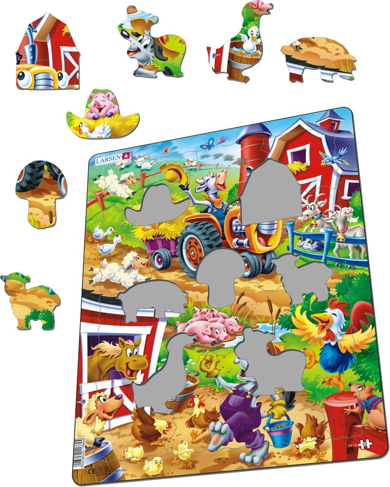 US15 - Happy Days for the Barnyard Animals (Illustrative image 1)