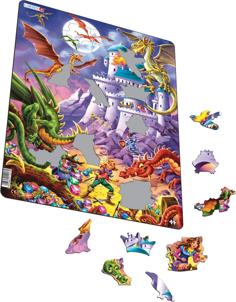 US17 - Dragons and Heroes Guarding the Castle Treasure (Illustrative image 1)